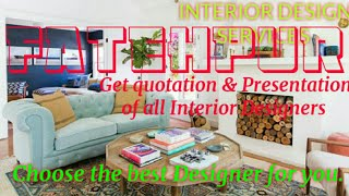 FATEHPUR    INTERIOR DESIGN SERVICES ~ QUOTATION AND PRESENTATION~ Ideas ~ Living Room ~ Tips ~Bedro