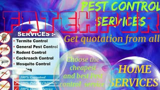 FATEHPUR      Pest Control Services ~ Technician ~Service at your home ~ Bed Bugs ~ near me 1280x720