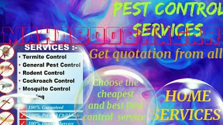 MAHABOOBNAGAR     Pest Control Services ~ Technician ~Service at your home ~ Bed Bugs ~ near me 1280