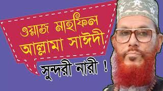 আল্লামা দেলাওয়ার হোসাইন সাঈদী ওয়াজ | New Bangla Waz Allama Saidy | Saidi Bangla Waz | Saidi Waz New