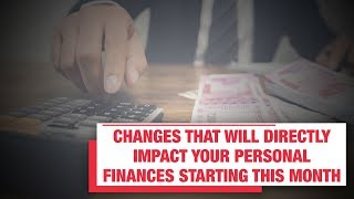 Changes that will directly impact your personal finances starting this month | Economic Times