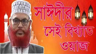 সাঈদীর সেই বিখ্যাত ওয়াজ | Allama Saidi Waz Mahfil Bangla | Saidi Waz | Saidi Bangla Waz Mahfil