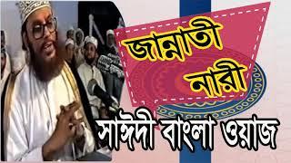 জান্নাতী নারীর পরিচয় | Saidi Waz Mahfil Bangla | Bangla Waz Mahfil | New Bangla Waz | Waz Video