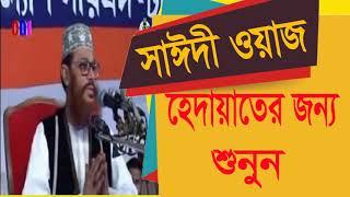 Allama Saidy Bangla Waz mahfil   হেদায়াতের জন্য সাঈদীর ওয়াজটি শুনুন । Saidi Best Bangla Waz mahfil