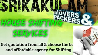 SRIKAKULAM      Packers & Movers ~House Shifting Services ~ Safe and Secure Service  ~near me 1280x7