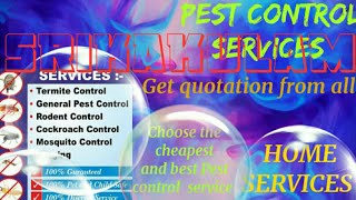 SRIKAKULAM     Pest Control Services ~ Technician ~Service at your home ~ Bed Bugs ~ near me 1280x72