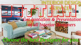 BETTIAH    INTERIOR DESIGN SERVICES ~ QUOTATION AND PRESENTATION~ Ideas ~ Living Room ~ Tips ~Bedroo