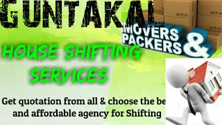 GUNTAKAL      Packers & Movers ~House Shifting Services ~ Safe and Secure Service  ~near me 1280x720