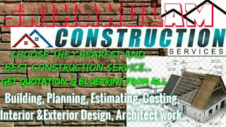 SRIKAKULAM     Construction Services ~Building , Planning,  Interior and Exterior Design ~Architect