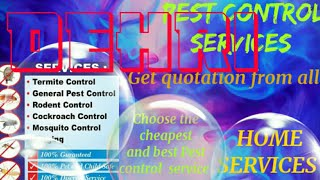 DEHRI    Pest Control Services ~ Technician ~Service at your home ~ Bed Bugs ~ near me 1280x720 3 78