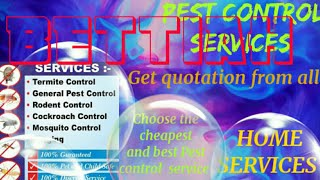 BETTIAH     Pest Control Services ~ Technician ~Service at your home ~ Bed Bugs ~ near me 1280x720 3