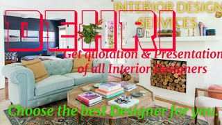 DEHRI    INTERIOR DESIGN SERVICES ~ QUOTATION AND PRESENTATION~ Ideas ~ Living Room ~ Tips ~Bedroom
