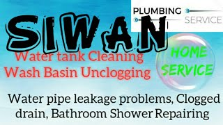 SIWAN      Plumbing Services ~Plumber at your home~   Bathroom Shower Repairing ~near me ~in Buildin