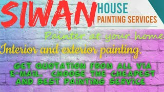 SIWAN     HOUSE PAINTING SERVICES ~ Painter at your home ~near me ~ Tips ~INTERIOR & EXTERIOR 1280x7