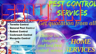 SIWAN     Pest Control Services ~ Technician ~Service at your home ~ Bed Bugs ~ near me 1280x720 3 7