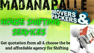 MADANAPALLE      Packers & Movers ~House Shifting Services ~ Safe and Secure Service  ~near me 1280x