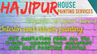 HAJIPUR    HOUSE PAINTING SERVICES ~ Painter at your home ~near me ~ Tips ~INTERIOR & EXTERIOR 1280x