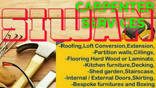 SIWAN     Carpenter Services  ~ Carpenter at your home ~ Furniture Work  ~near me ~work ~Carpentery