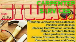 SIWAN     Carpenter Services ~ Carpenter at your home ~ Furniture Work ~near me ~work ~Carpentery