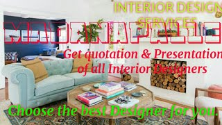 MADANAPALLE      INTERIOR DESIGN SERVICES ~ QUOTATION AND PRESENTATION~ Ideas ~ Living Room ~ Tips ~