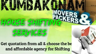 KUMBAKONAM    Packers & Movers ~House Shifting Services ~ Safe and Secure Service  ~near me 1280x720