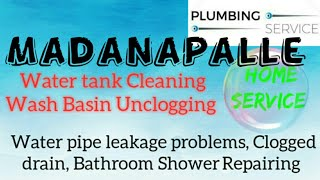 MADANAPALLE     Plumbing Services ~Plumber at your home~   Bathroom Shower Repairing ~near me ~in Bu