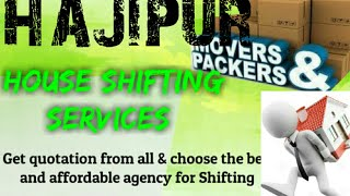 HAJIPUR     Packers & Movers ~House Shifting Services ~ Safe and Secure Service ~near me 1280x720 3
