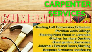 KUMBAKONAM      Carpenter Services  ~ Carpenter at your home ~ Furniture Work  ~near me ~work ~Carpe