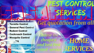 SASARAM     Pest Control Services ~ Technician ~Service at your home ~ Bed Bugs ~ near me 1280x720 3