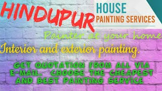 HINDUPUR      HOUSE PAINTING SERVICES ~ Painter at your home ~near me ~ Tips ~INTERIOR & EXTERIOR 12
