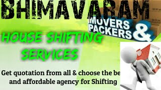 BHIMAVARAM     Packers & Movers ~House Shifting Services ~ Safe and Secure Service ~near me 1280x72