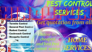 HINDUPUR      Pest Control Services ~ Technician ~Service at your home ~ Bed Bugs ~ near me 1280x720