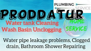 PRODDATUR    Plumbing Services ~Plumber at your home~ Bathroom Shower Repairing ~near me ~in Build