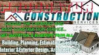 PRODDATUR    Construction Services ~Building , Planning, Interior and Exterior Design ~Architect 1