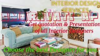 AMARAVATI AP    INTERIOR DESIGN SERVICES ~ QUOTATION AND PRESENTATION~ Ideas ~ Living Room ~ Tips ~B