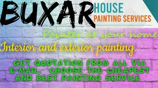 BUXAR     HOUSE PAINTING SERVICES ~ Painter at your home ~near me ~ Tips ~INTERIOR & EXTERIOR 1280x7