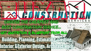 BUXAR    Construction Services ~Building , Planning,  Interior and Exterior Design ~Architect 1280x7