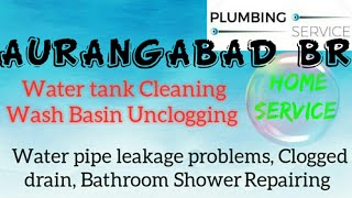 AURANGABAD BR    Plumbing Services ~Plumber at your home~ Bathroom Shower Repairing ~near me ~in B