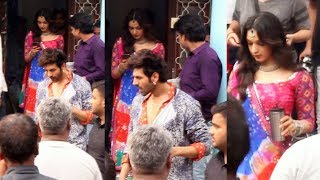 Kartik Aaryan And Kiara Advani Spotted On Location Shoot Of Bhool Bhulaiyaa 2