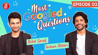 Farhan Akhtar & Rohit Saraf Are At Their Sarcastic Best | Most Googled Questions | The Sky Is Pink
