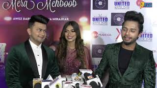 Awez Darbar, Nagma & Stebin - Full Exclusive Interview - Mera Mehboob Song Launch