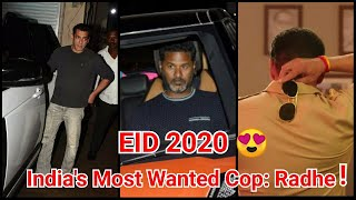Is India's Most Wanted Cop Radhe The Title Of Salman Khan's EID 2020 Release?