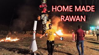 I Made This Rawan At Home - Dussehra 2019