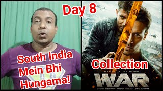 War Movie Box Office Collection Day 8 In India