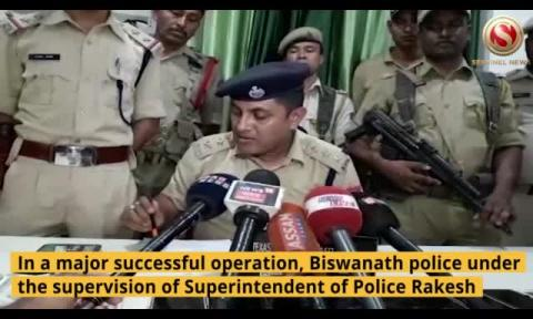 Gambling Den busted in Biswanath, 10 Arrested