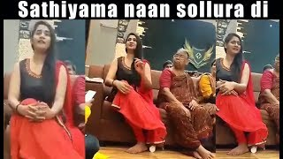 Losliya sing Vaseegara song | Sathiyama naan sollura di song