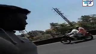 वाहतूक पोलिसांच्या वागणूकीने नागरिकांचा संताप