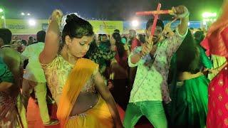 Navratri Garba dance program at Bhubaneswar, Odisha | Satya Bhanja
