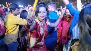ଦୂର୍ଗା ପୂଜା Navratri Garba dance program at Bhubaneswar, Odisha | Satya Bhanja