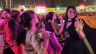 Navratri Dandiya Night with huge gathering at Bhubaneswar, Odisha | Satya Bhanja